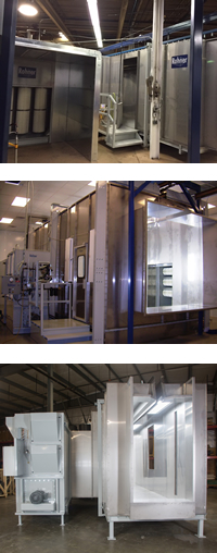 Rohner Process Powder Booth